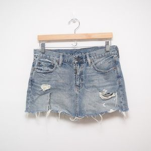 Ralph Lauren Denim & Supply Vintage Slim Skirt, 28